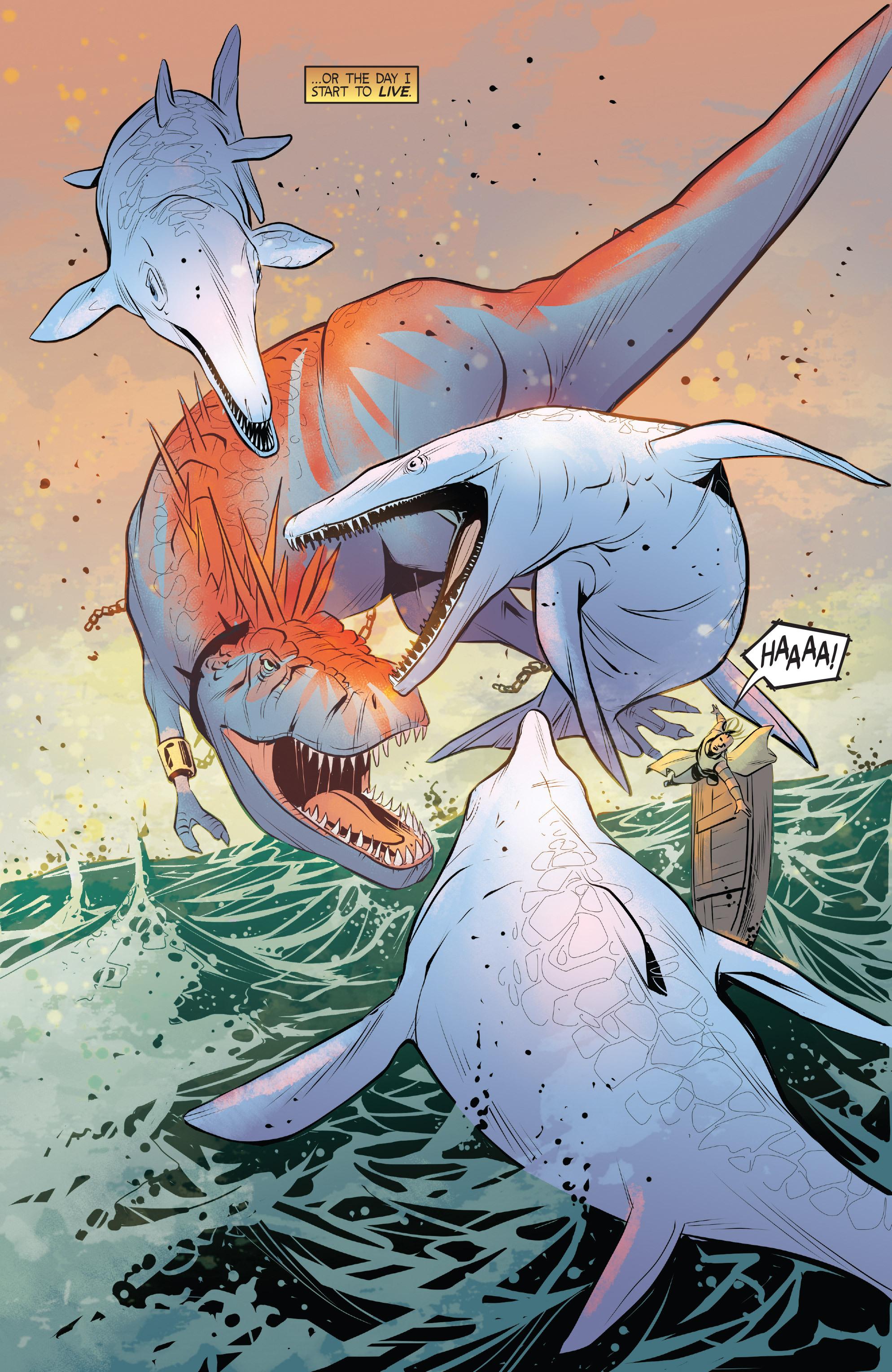 Read online Turok: Dinosaur Hunter (2014) comic -  Issue # _TPB 1 - 93