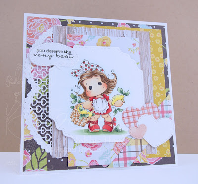 Heather's Hobbie Haven - Lemon Tilda Card Kit