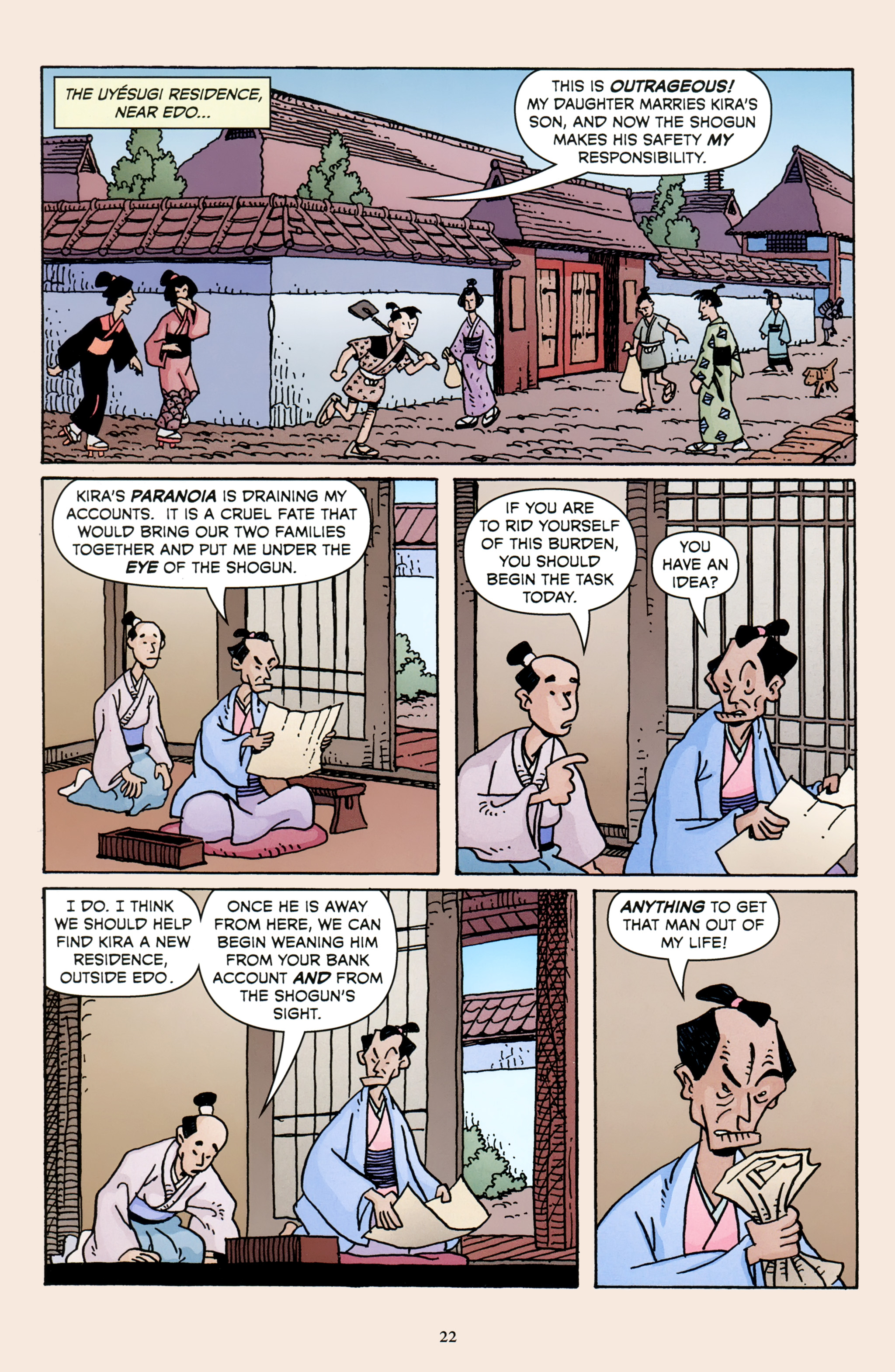Read online 47 Ronin comic -  Issue #3 - 24