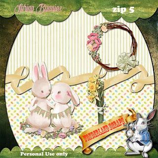 Spring Bunnies 5 freebie