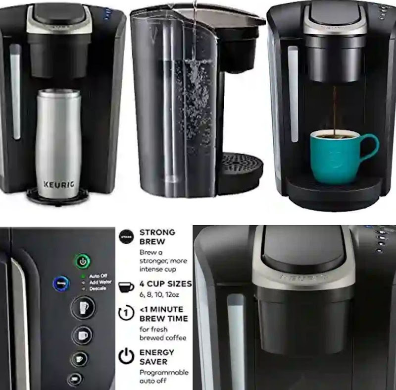 Keurig Coffee Maker: Portable Home Brewing Machine - Single Serve K-Select