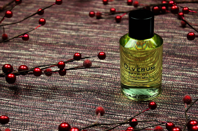 A review of Olverum Bath Oil