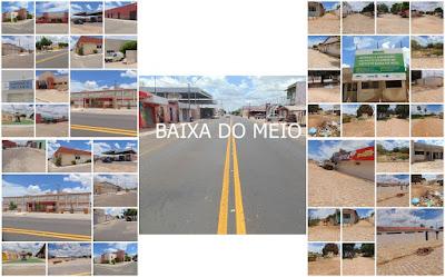 Resultado de imagem para Distrito de Baixa do Meio divido Guamaré e Pedro Aveilno