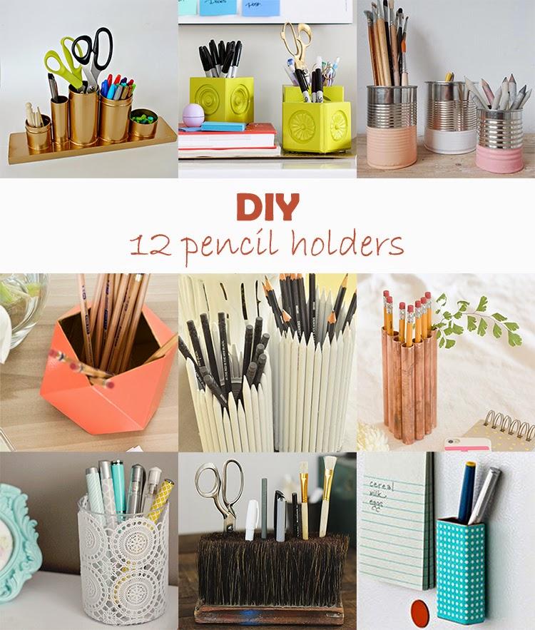 DIY Monday # Pencil holders - Ohoh Blog