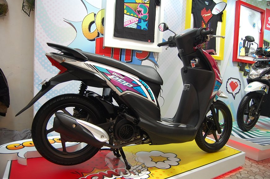 Hari ini bakalan ada launching All New Honda BeAT eSP serentak di berbagai kota di Indonesia #PestaBeAT