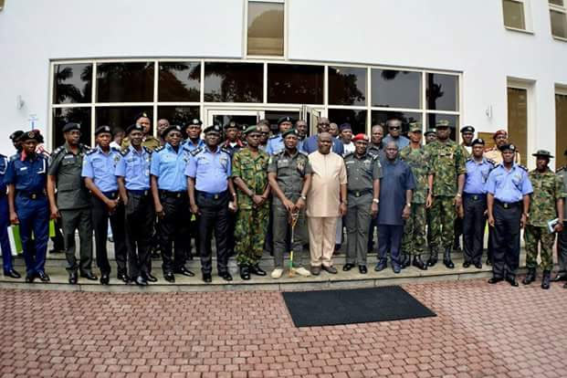 Photos: Wike blasts IG of Police as he welcomes him to Rivers State