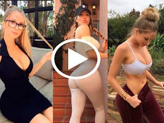 Es la entrenadora más sexy de Instagram y sus candentes rutinas lo prueban ¿Aún no la sigues? [VIDEO]
