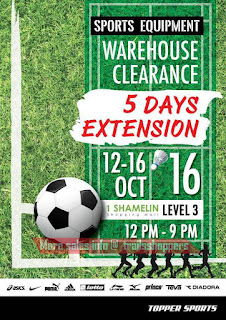 Topper Sports Warehouse Sale Extended 2016