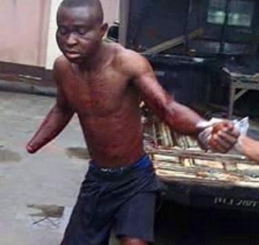 mob cuts off man hand uyo akwa ibom state