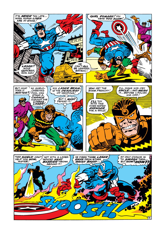 Read online Captain America (1968) comic -  Issue #105 - 15