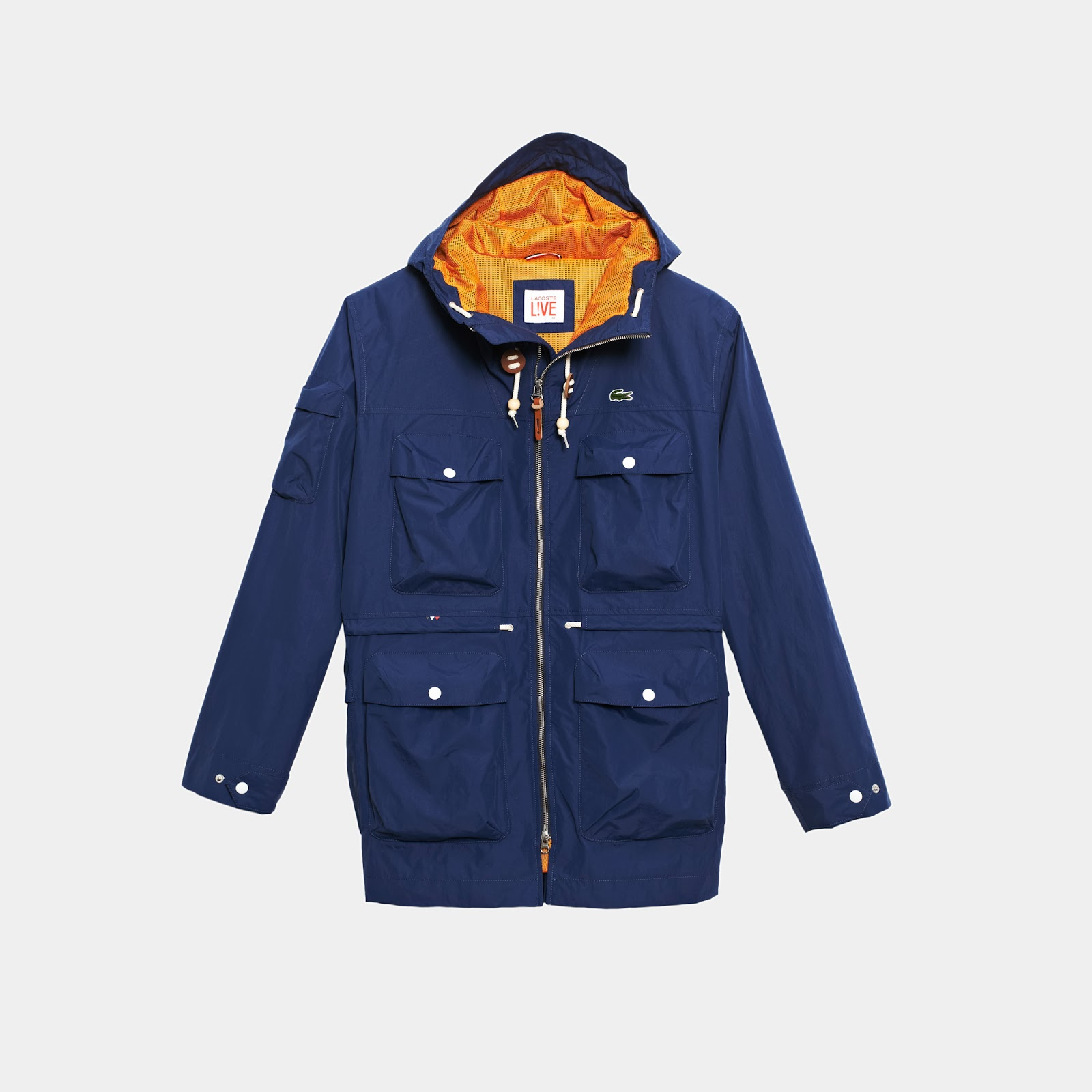 f515b1b1f6 Fat Buddha Store Blog // All the News: Lacoste Live - Hooded ...