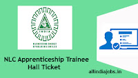 NLC Apprenticeship Trainee Hall Ticket
