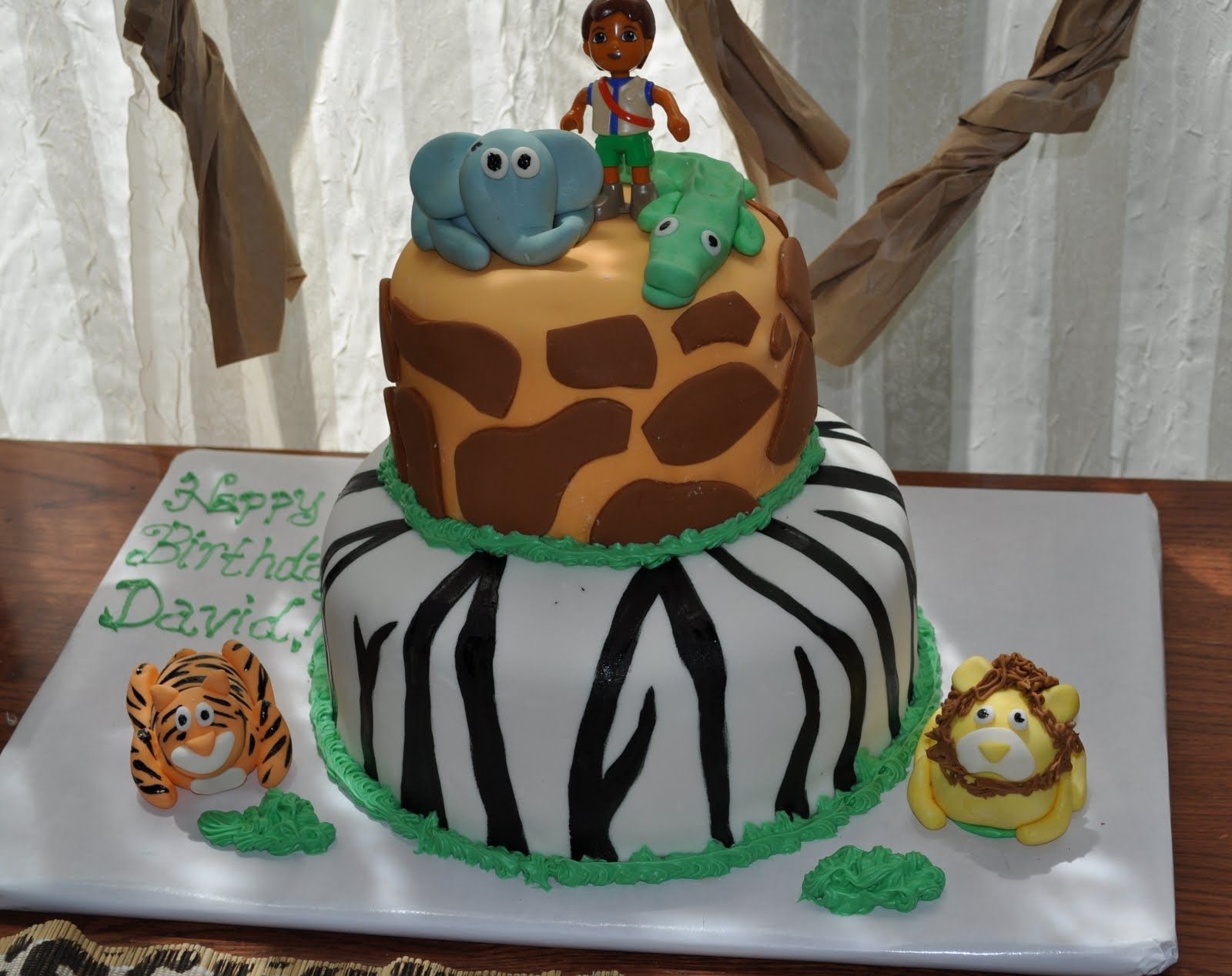 Food Girls Cakes Lion Birthday