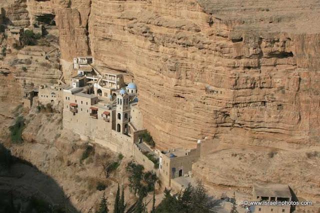Sint Jorisklooster, Wadi Qelt, Woestijn van Judea, Christelijke Heilige Plaatsen