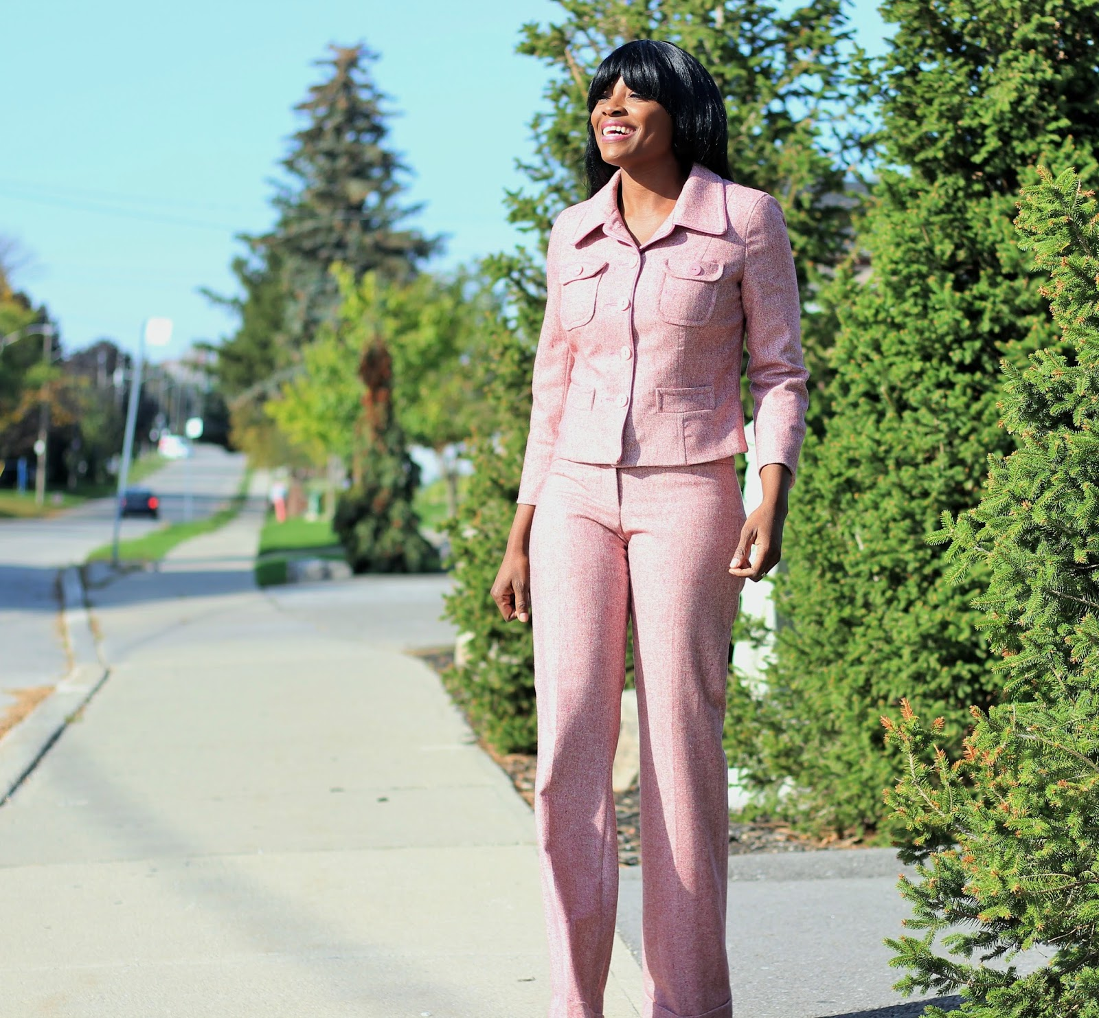PANTSUIT BY BEBE