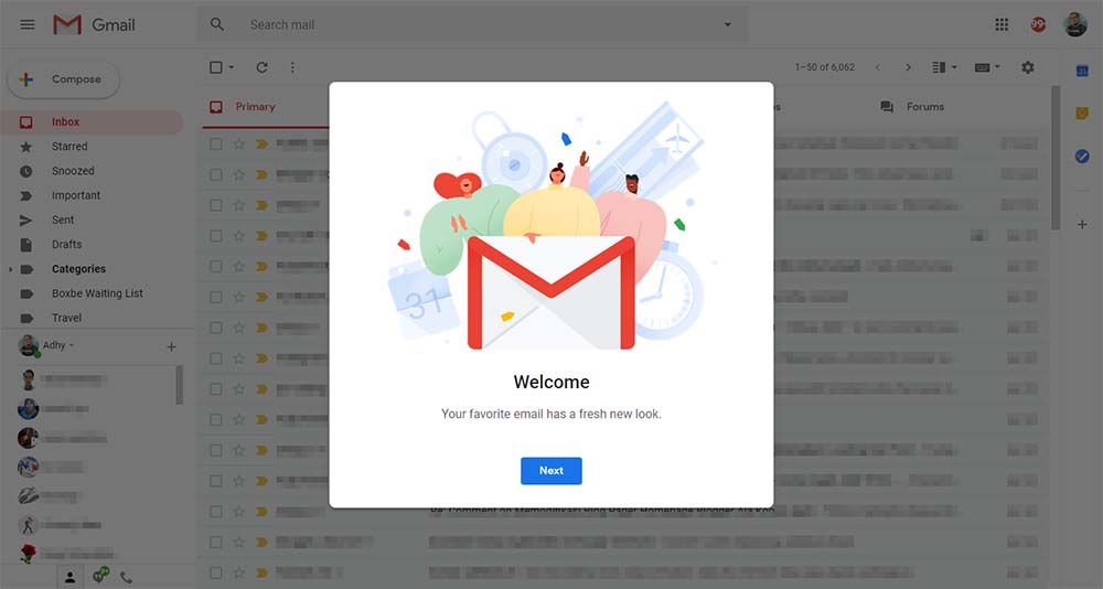 Google Has Rolled Out New Web UI Update for Gmail