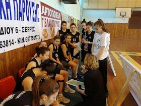 ΜΓΣ Πανσερραϊκός - ΣΦΚ Πιερικός Αρχέλαος 65-55