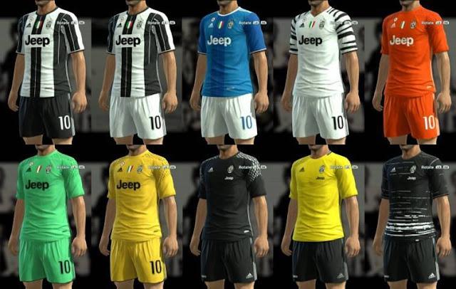 PES 2013 Juventus Kit Season 2016-2017