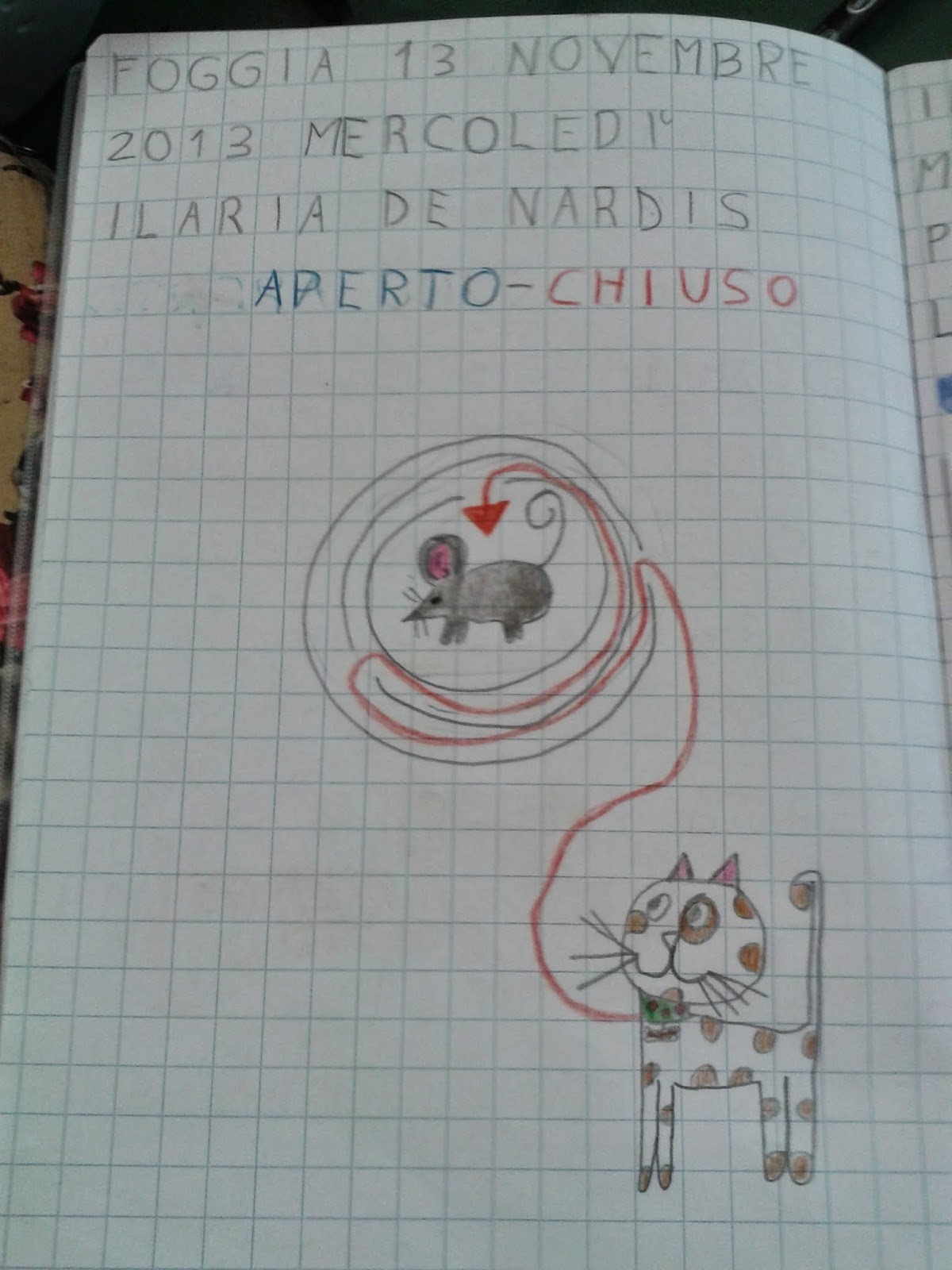 Popolare LA MAESTRA MARIA TI SALUTA: Quaderno di geografia classe 1^ as  ZQ85