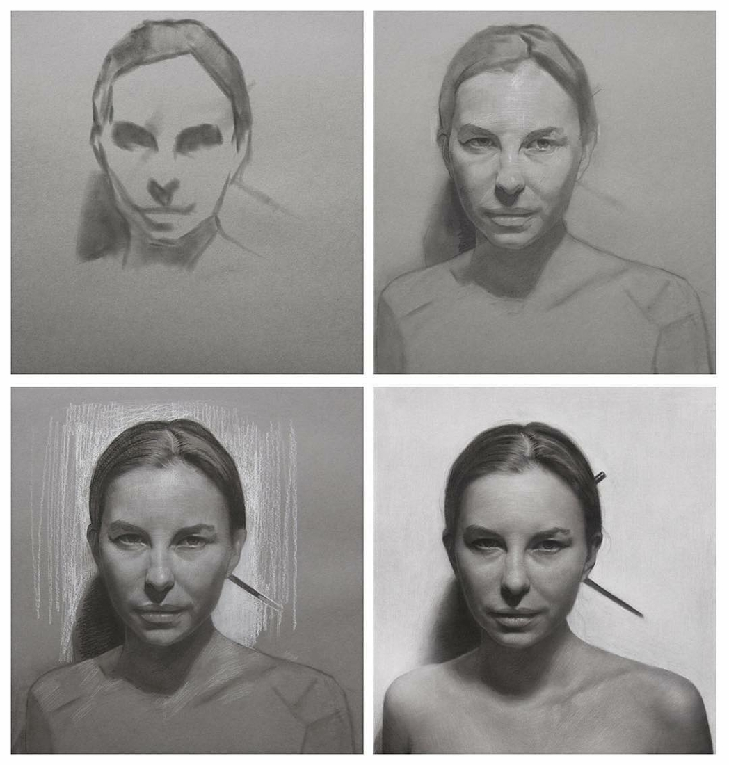 13-Charcoal-WIP-David-Kassan-Charcoal-Portrait-Drawings-of-Ordinary-People-www-designstack-co