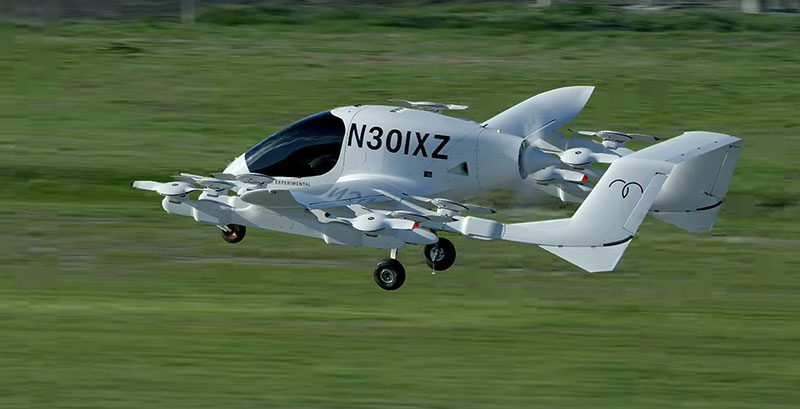 Cora – летающее роботакси | Kitty Hawk