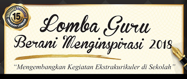 adalah lomba yang diselenggarakan oleh Penerbit Erlangga sebagai wadah para tenaga pengaja LOMBA GURU BERANI MENGINSPIRASI TAHUN 2018