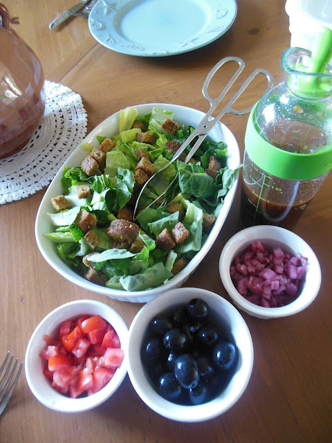 Maple Balsamic Vinaigrette, easy pantry recipe.