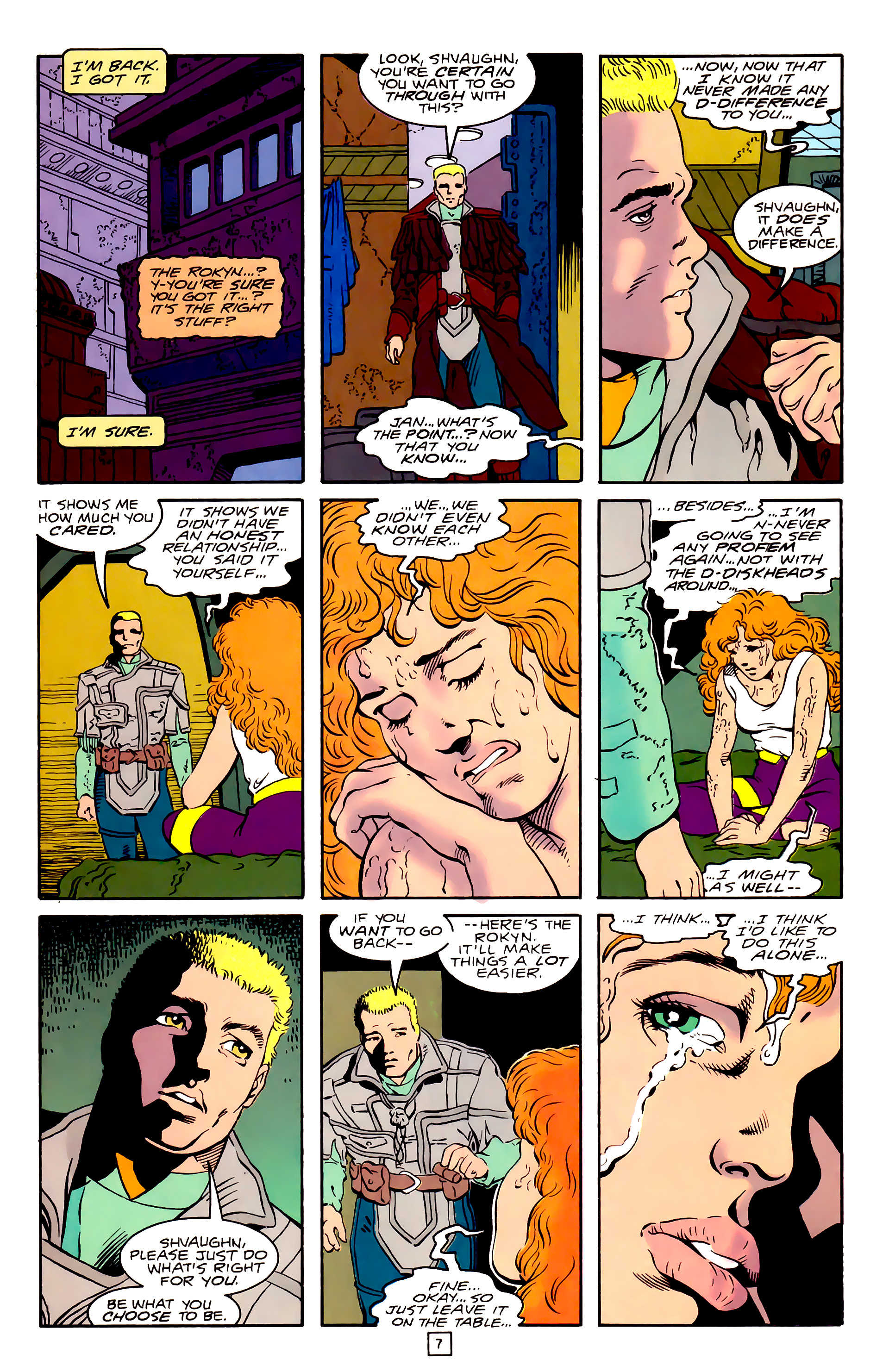 Legion of Super-Heroes (1989) 31 Page 7