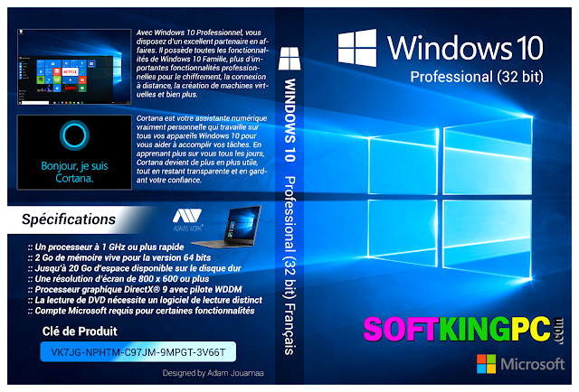 Windows 10 Pro All in One 32 Bit ISO Free Download