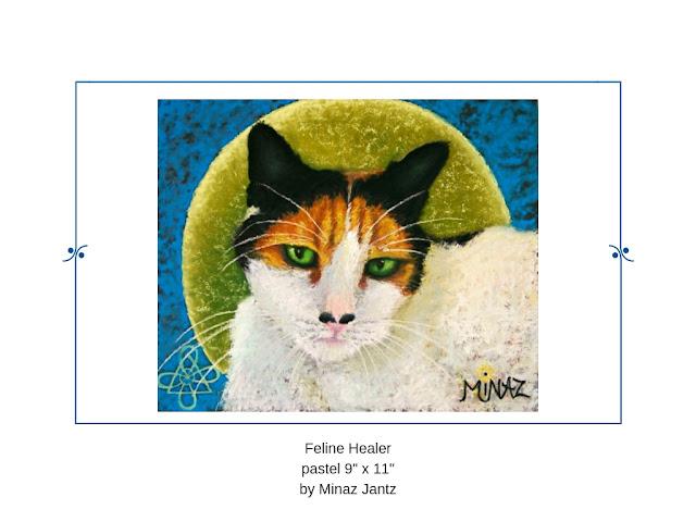 Feline Healer by Minaz Jantz