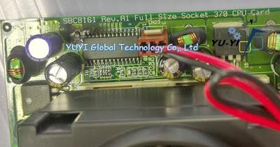 AXIOMTEK SBC8161 Rev.A1 Full Size Socket 370 CPU Card