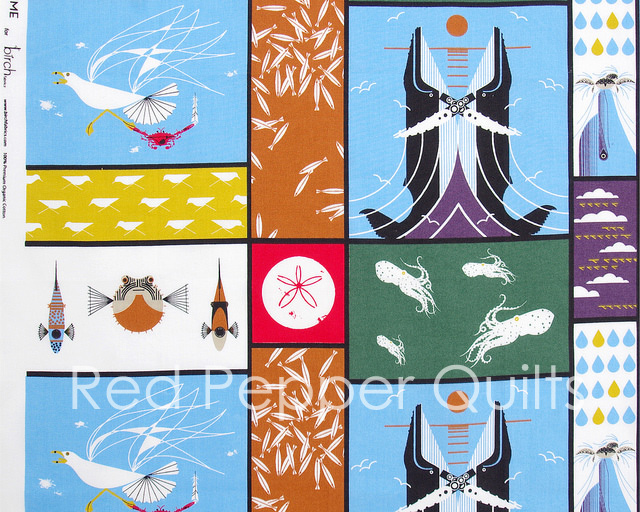 Charley Harper - Maritime for Birch Fabrics | Red Pepper Quilts 2016