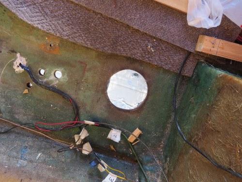 fiberglass trailer floor