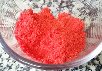 azucar rojo