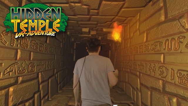 hidden temple vr adventure game screenshot