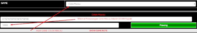 Panduan Cara Bermain Game Colok Macau Dengan * Bintang
