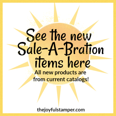 Stampin' Up! Sale-A-Bration third release products | current catalog products for free| Shop with Nicole Steele The Joyful Stamper