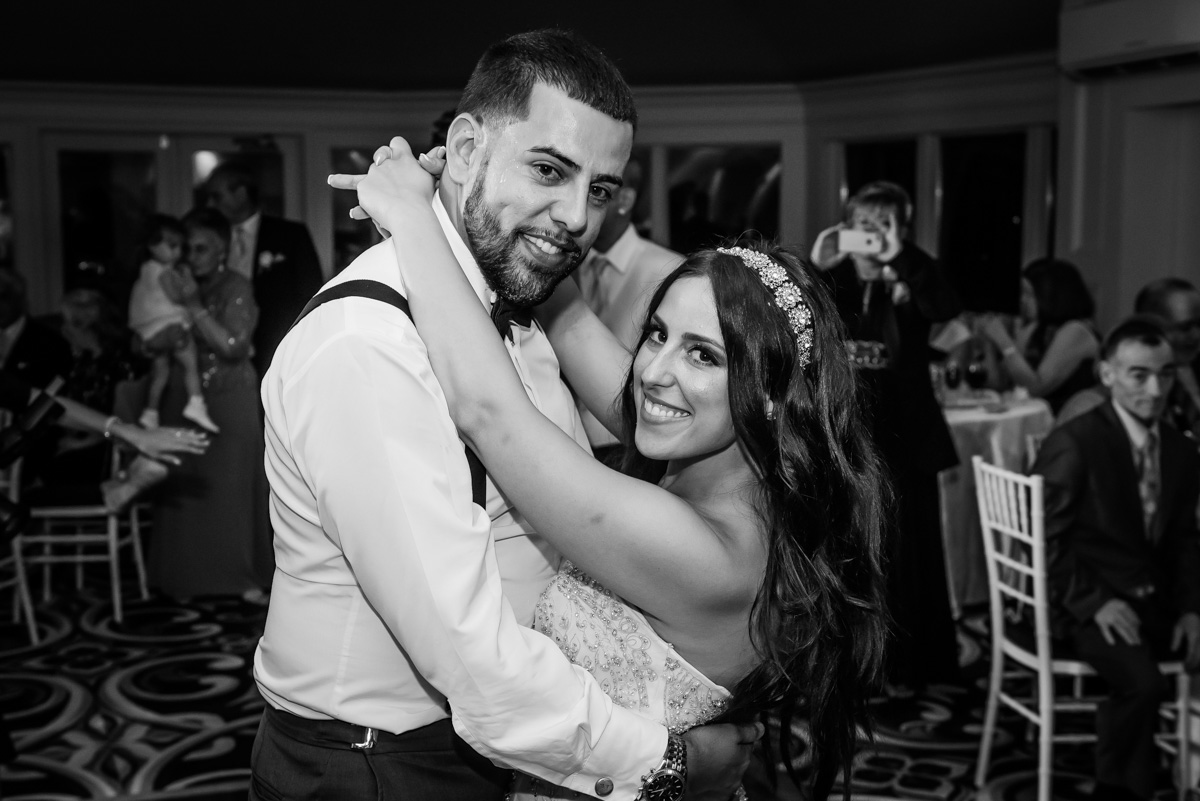 Couple Enjoying Moments On The Dance Floor