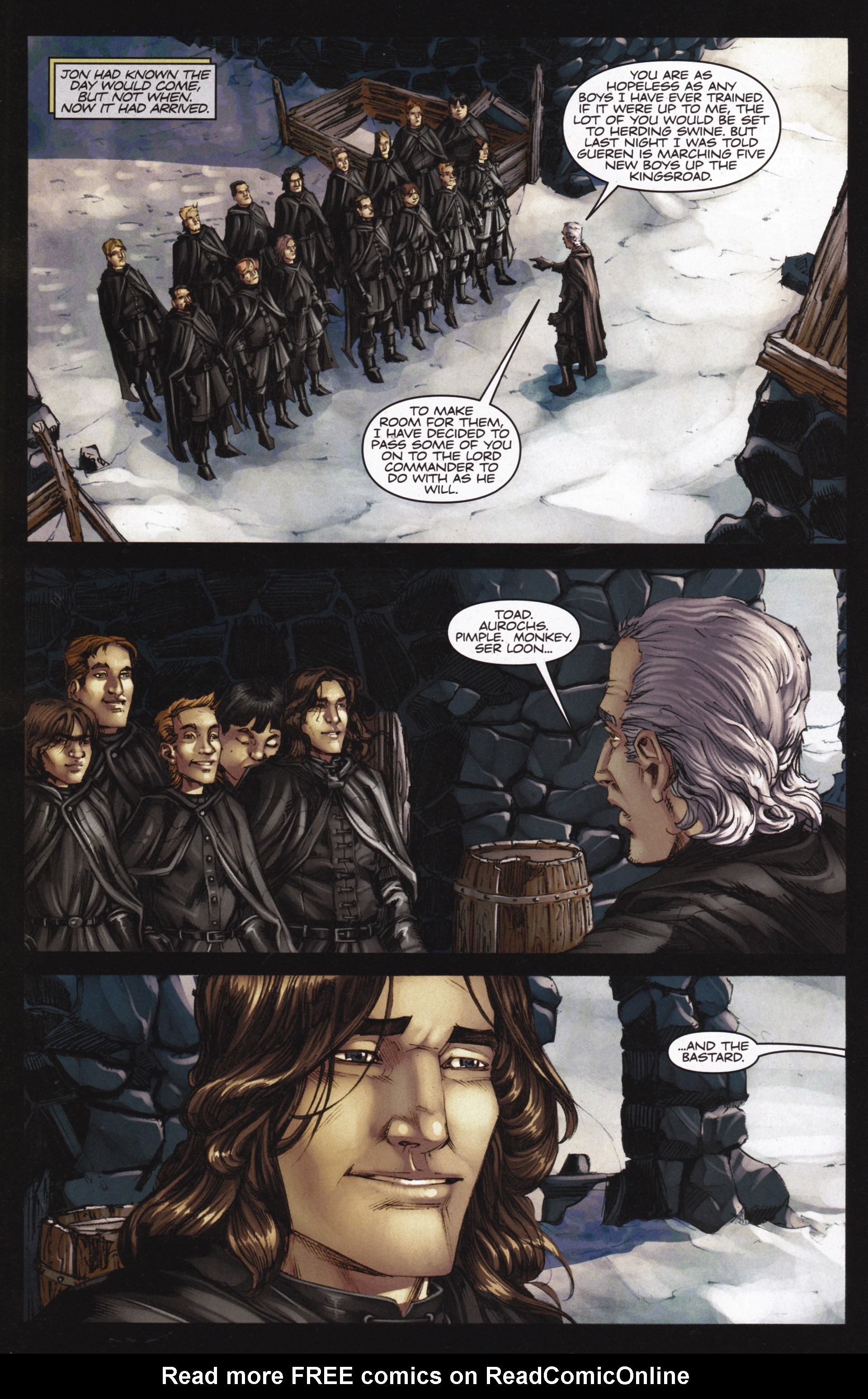 Read online A Game Of Thrones comic -  Issue #13 - 10
