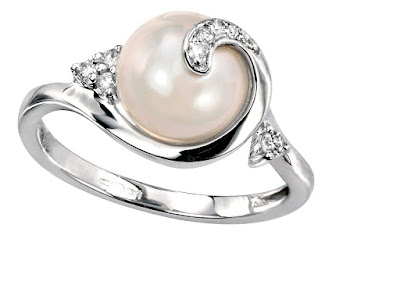 Latest Pearls Ring Jewelry