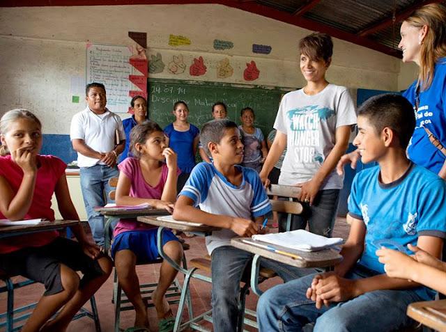 Halle Berry Nicaragua