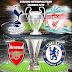 Três Taças Confirmada para a Inglaterra Liga dos Campeões Liga Europa e a Taça da Europa