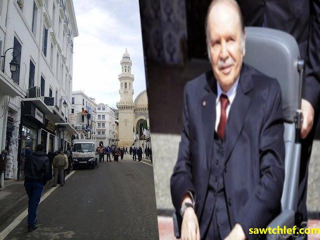 الرئيس بوتفليقة ينزل للشارع لتدشين مشاريع بالعاصمة