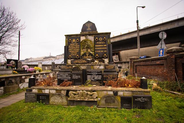 Cimitero vicino al mercato Hala Torgowa-Cracovia