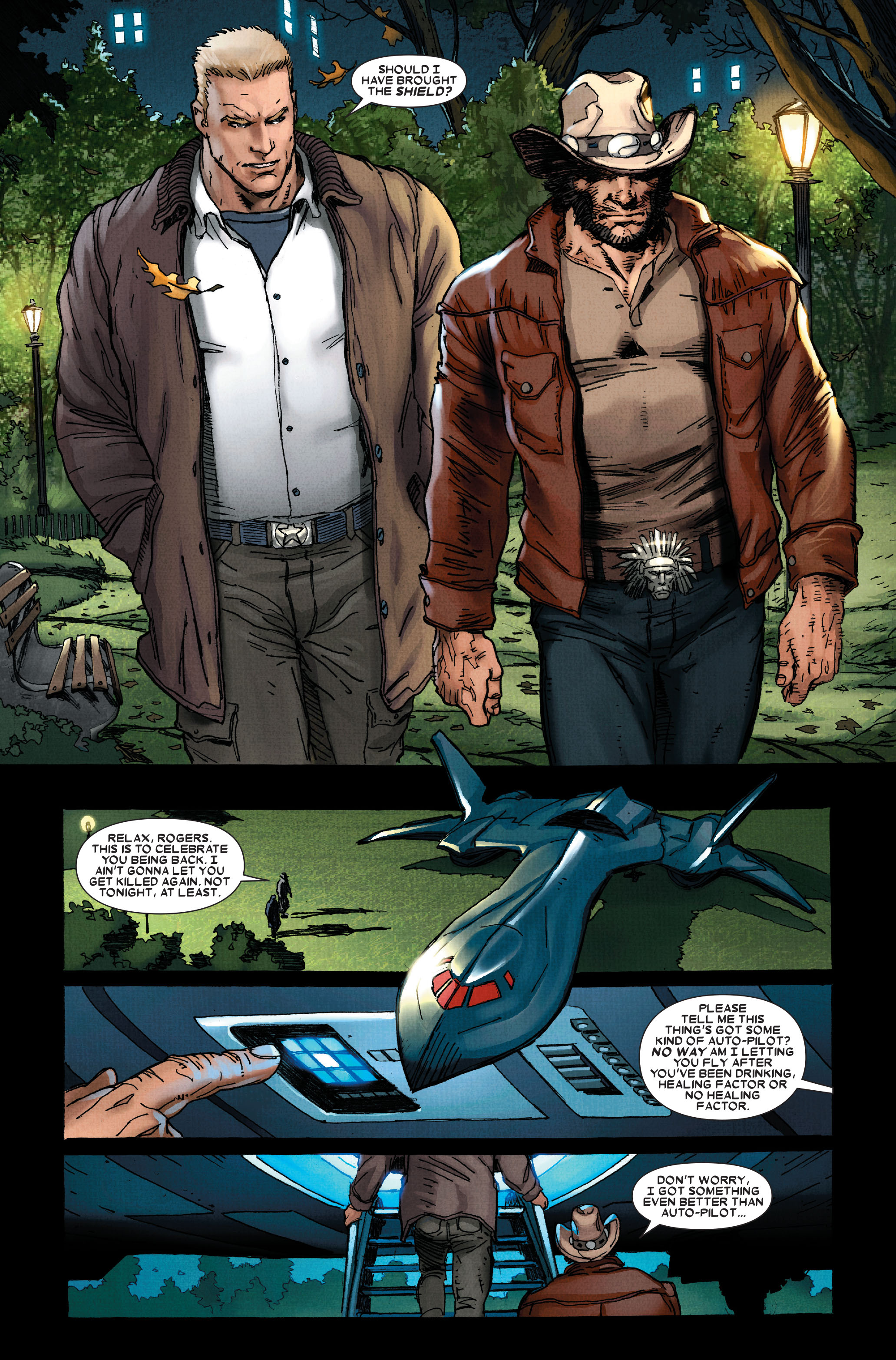 Read online Wolverine: Weapon X comic -  Issue #11 - 9