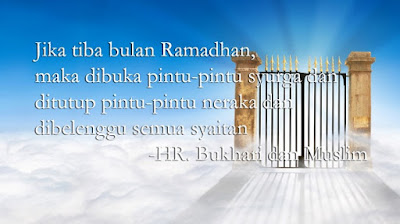 Hadist Bukhari dan Muslim tentang Bulan Ramadhan setan dibelenggu - berbagaireviews.com