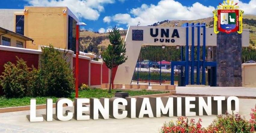 SUNEDU otorga licenciamiento institucional a la Universidad Nacional del Altiplano (UNA Puno) - www.sunedu.gob.pe