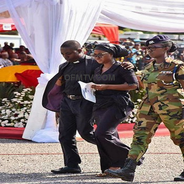 Major Mahama's wife breaks silence in heart-piercing tribute