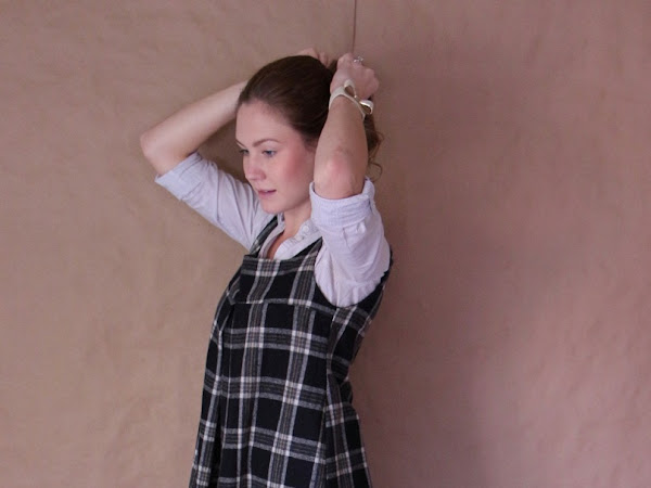 Amy Butler Tunic in Wool Plaid
