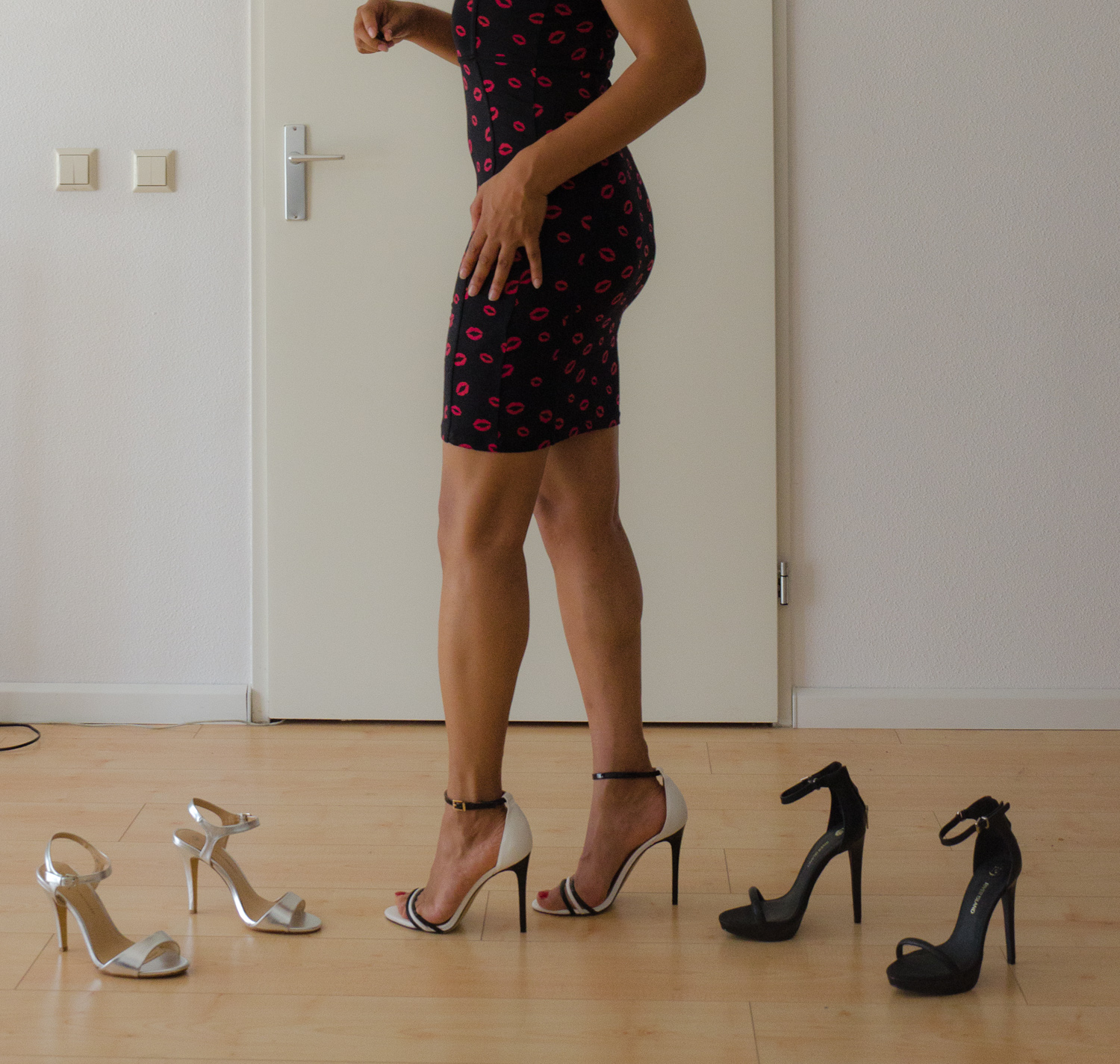 how to clean my heels
